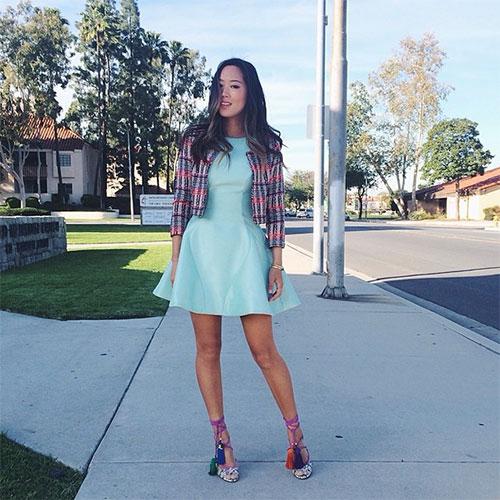 Aimee Song エイミー・ソングのドレススタイル6
