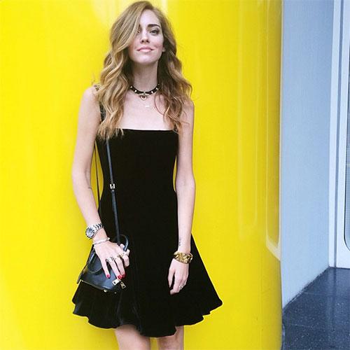 Chiara Ferragni キアラ・フェラーニのドレススタイル1