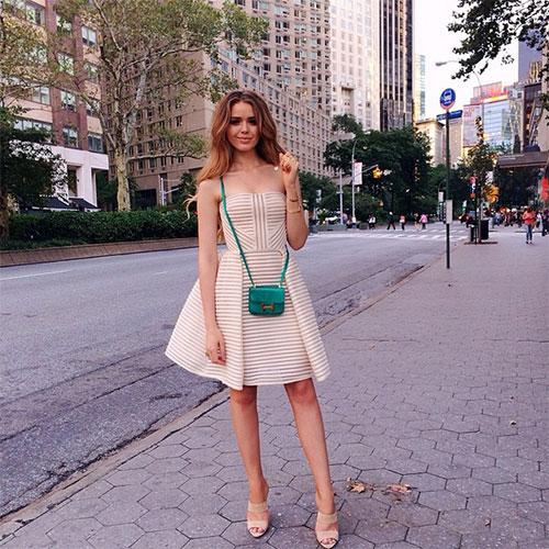 Kristina Bazan クリスティナ・バザンのドレススタイル5