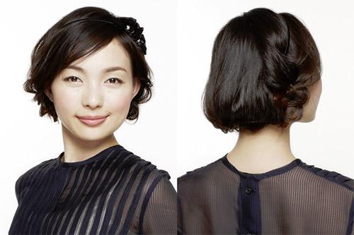自分で簡単にできる髪型 ロングヘアのハーフアップ編み込みとまとめ髪アレンジ5-4-1