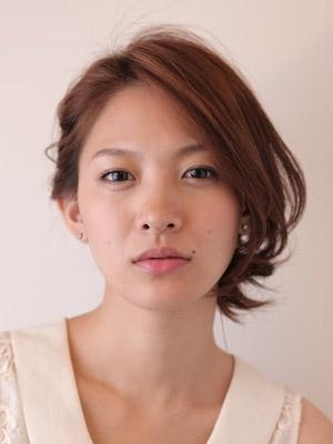 自分でできる髪型 ミディアムヘア編み込みハーフアップスタイル4-5-1