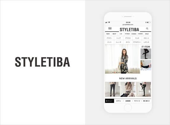 STYLETIBA(スタイルティバ)のサイトイメージ