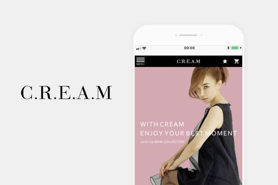CREAM(クリーム)のサイトイメージ