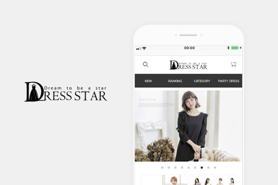 DressStar(ドレススター)のサイトイメージ